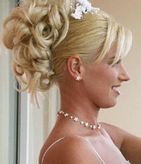 свадебные прически букли
