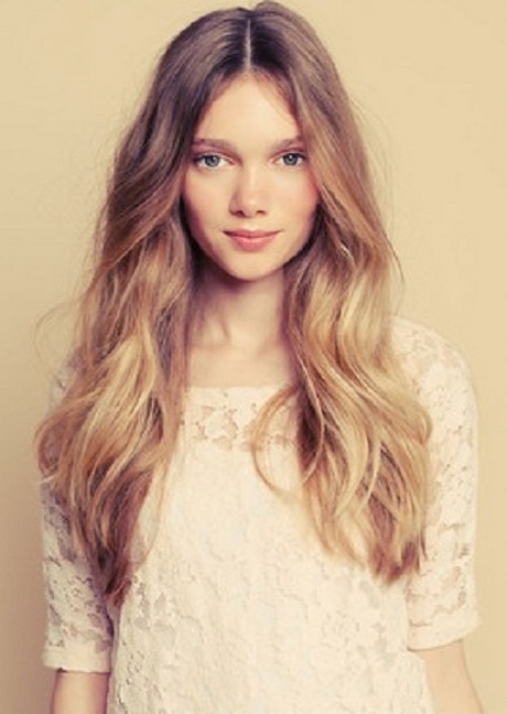 Simpel Kapsel Lang Haar