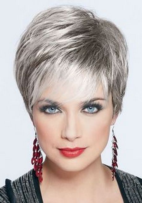 Kapsels met grijs haar on Pinterest | Short Silver Hair Silver