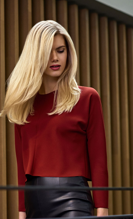 Blonde Haartrends 2018