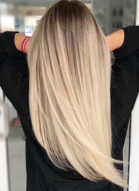 platinum blonde kapsels