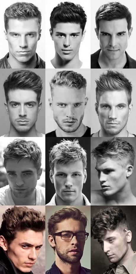 Verschillende Haarstijlen Mannen