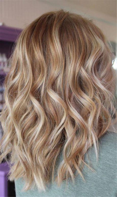 Blond haarkleur 2020