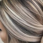As blond haar