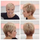 Korte kapsels met highlights