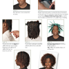 Natural black hair kapsels