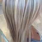 Blond met meches