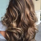 Caramel kleur highlights